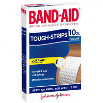 Band-Aid Tough Strips Extra Large 10 Pack