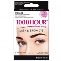 1000 Hour Lash & Brow Dye Kit Brown Black