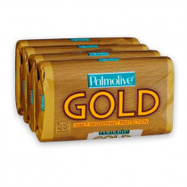 Palmolive Daily Deodorant Protection Soap Gold 4 Pack