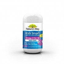 Natures Way Kids Smart Omega-3 Fish Oil Fruity 50 Chewable Capsules