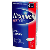 Nicotinell Gum Fruit 4mg 24 Pieces
