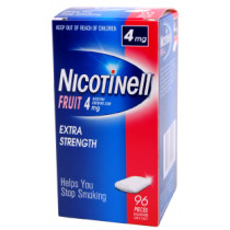 Nicotinell Gum Fruit 4mg 96 Pieces