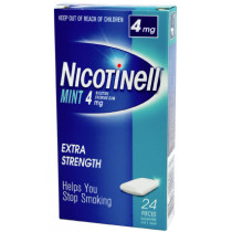 Nicotinell Gum Mint 4mg 24 Pieces