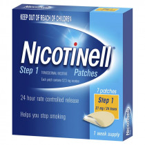 Nicotinell Patches Step 1 21mg 7 Patches