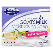 Natural Secrets Goatsmilk Moisturising Soap 100g