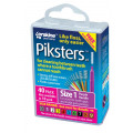 Piksters Size 1 Purple 40 Pack
