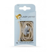 Lady Jayne Blonde Snagless Thick Elastics 10 Pack
