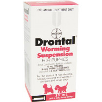 Drontal Worming Puppy Suspension 30ml