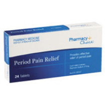 Pharmacy Choice Period Pain Relief 24 Tablets