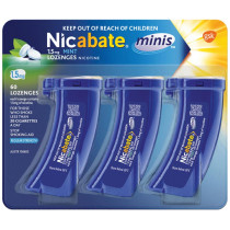 Nicabate Mini 1.5mg Mint 60 Lozenges