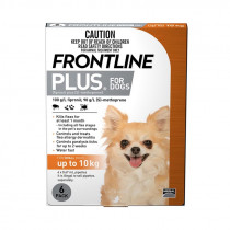 Frontline Plus For Small Dogs 0-10kg 6 Pack