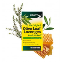 Comvita Olive Leaf Extract With Manuka Honey 12 Lozenges