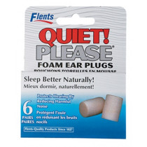 Flents Quiet Please Foam Ear Plugs 6 Pairs
