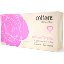 Cottons Super Tampons 16 Pack