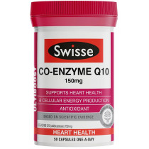 Swisse Ultiboost Co Enzyme Q10 150mg 50 Capsules
