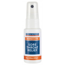 Ethical Nutrients Immuzorb Sore Throat Relief Oral Spray 25ml