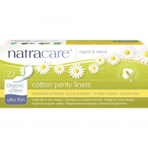 Natracare Ultra Thin Panty Liners 22 Pack