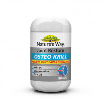 Natures Way Joint Restore Osteo Krill 50 Capsules
