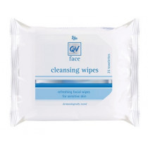 Ego QV Face Cleansing Wipes 25 Pack