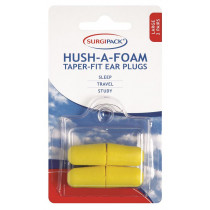 Surgipack Hush-A-Foam Taper-Fit Large 2 Pairs x 1
