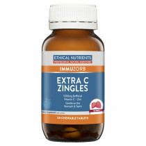 Ethical Nutrients Immuzorb Extra C Zingles Berry 50 Tablets
