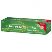 Berocca Performance Original Berry 15 Effervescent Tablets