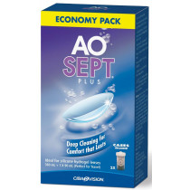 Aosept Plus Disinfecting Solution Economy Pack 450ml