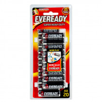 Eveready Battery AA 20 Value Pack