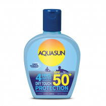 Aquasun SPF 50+ Dry Touch Protection Sunscreen 125ml