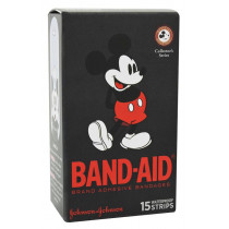 Band-Aid Adhesive Bandages Character Strips Mickey Mouse 15 Pack