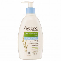 Aveeno Daily Moisturusing Lotin Sheer Hydration 350ml