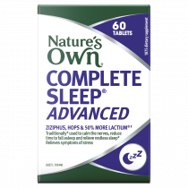 Natures Own Complete Sleep Advanced 60 Tablets