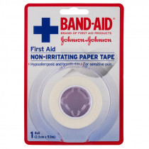 Band-Aid First Aid Non-Irritating Paper Tape 9.1m