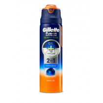Gillette Fusion Proglide Sensitive Shaving Gel Ocean Cool 170g
