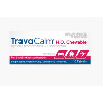 TravaCalm H.O. Chewable 10 Tablets