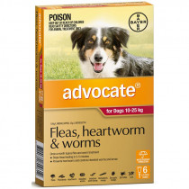 Advocate For Dogs 10-25kg 6 Pack