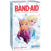 Band-Aid Adhesive Bandages Character Strips Disney Frozen 15 Pack