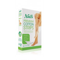 Nads Hair Removal Premium Cotton Strips 20 Pack
