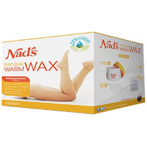 Nads Natural Hair Removal Warm Body Wax 370g