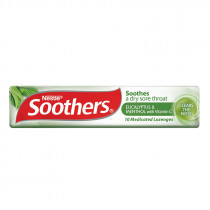 Allens Soothers Eucalyptus and Menthol 10 Lozenges