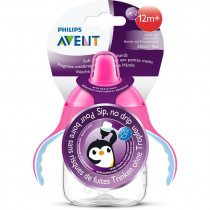 Avent Spout Cup Pink 12m+ 260ml