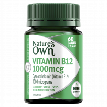 Natures Own Vitamin B12 1000mcg 60 Tablets