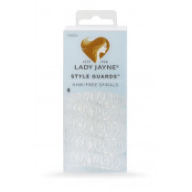 Lady Jayne Style Guards Clear Kink Free Spirals 8 Pack