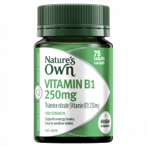 Natures Own Vitamin B1 250mg 75 Tablets