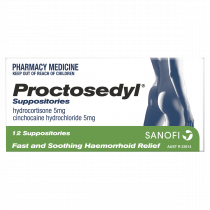 Proctosedyl Suppository 5mg 12 Pack