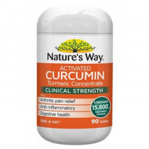 Natures Way Activated Curcumin 90 Tablets