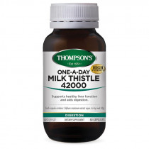 Thompsons One-A-Day Milk Thistle 42000mg 60 Capsules