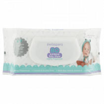 Swisspers Supreme Baby Wipes Lightly Fragrance 80 Wipes