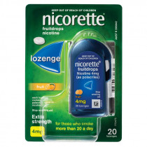 Nicorette Nicotine Lozenges Fruit 4mg 20 Lozenges
