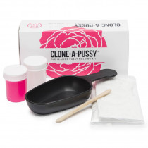 Clone-A-Pussy Silicone Casting Moulding Kit Hot Pink